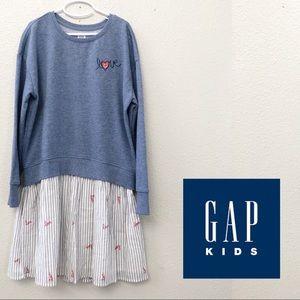 🎀 GAP Girl's Sweater Maxi Dress Love